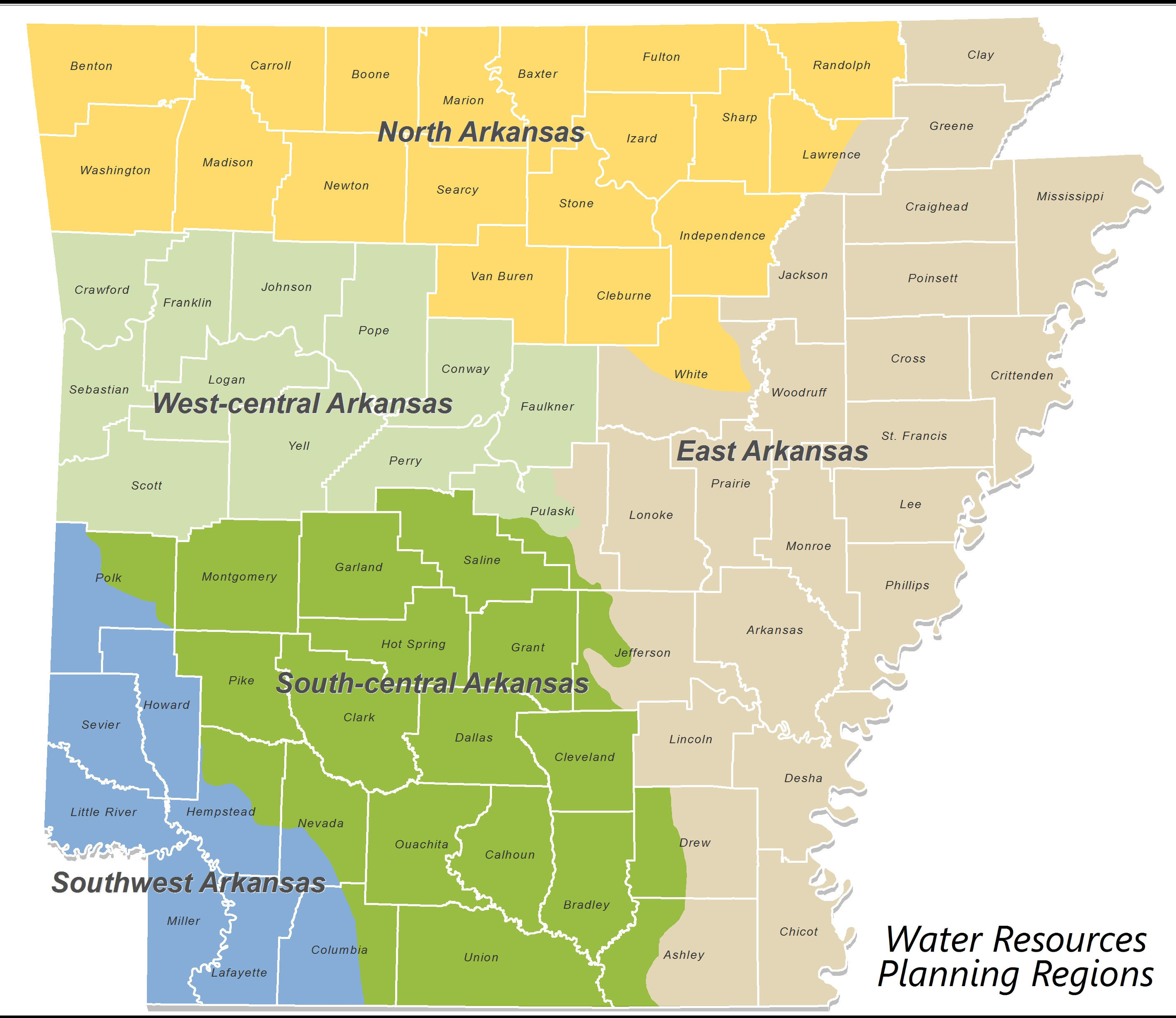 Water Resources Planning Regions